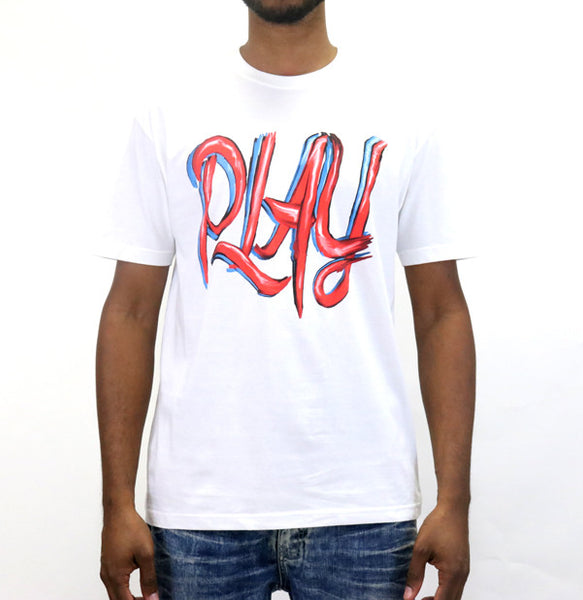 Play Cloths Strokes S/S T-Shirt - White