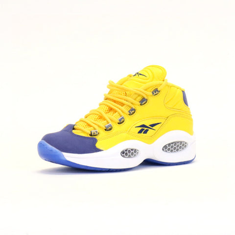 Reebok Question Mid - Yellow/Navy/White