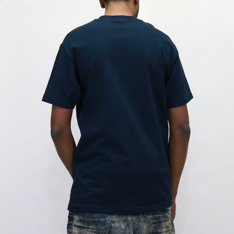 ALIFE Bubble T-Shirt - Navy Blue