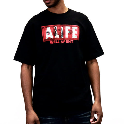 ALIFE Spent It T-Shirt - Black