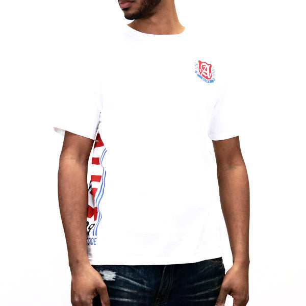 ALIFE Vertical T-Shirt - White