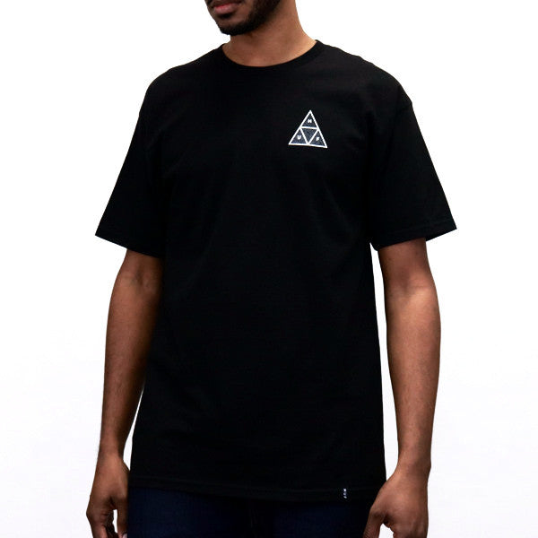 HUF Triple Triangle Identity T-Shirt - Black