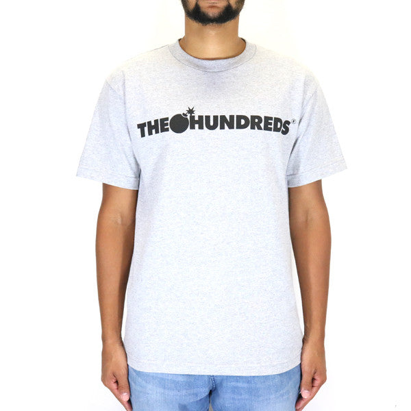 The Hundreds Forever Bar Logo T-Shirt - Athletic Heather