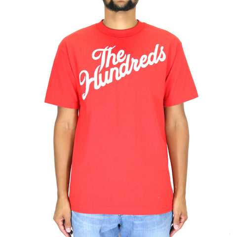 The Hundreds Forever Slant T-Shirt - Red