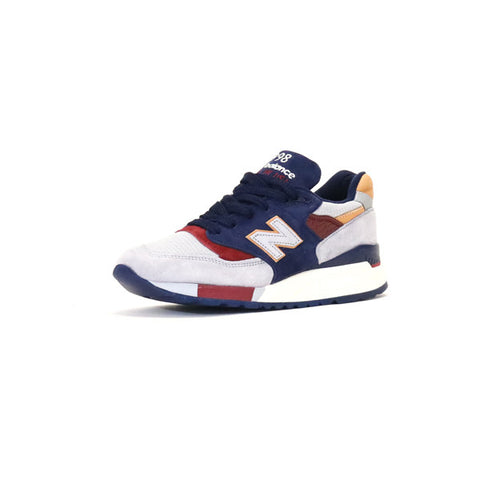 New Balance 998 CSU Suede - Grey / Navy