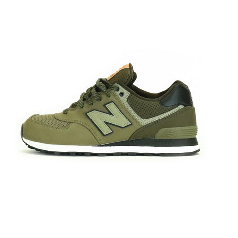 New Balance 574 GPD - Triumph Green / Military Dark Triumph