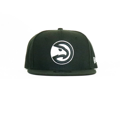 Atlanta Hawks Snapback Hat - Black