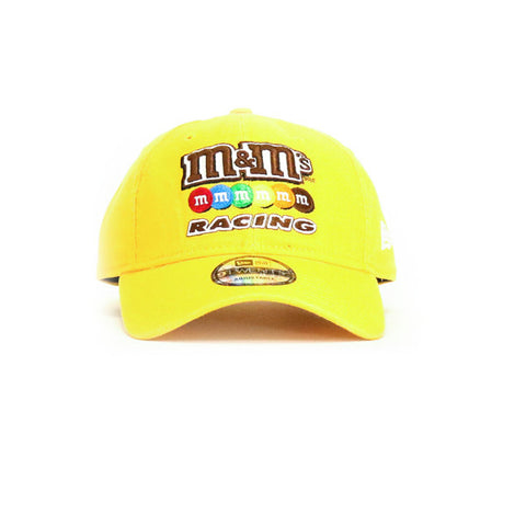 Kyle Busch MM Core Classic Strapback Hat - Yellow