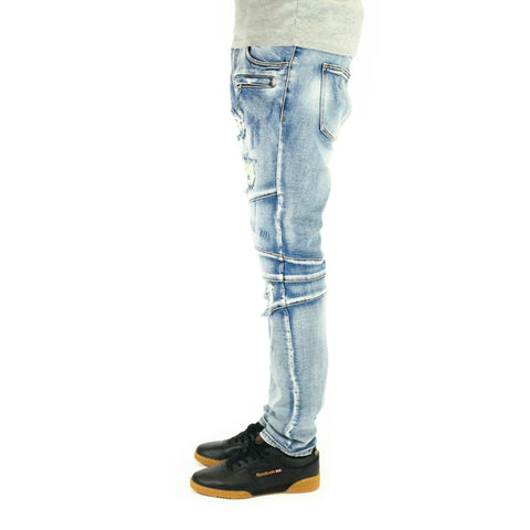 Crysp Denim Montana Denim Jeans - Stone Wash