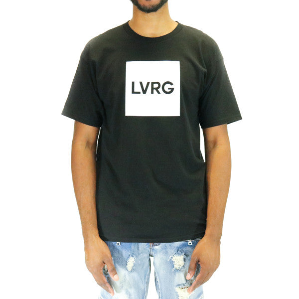 LVRG Box Logo T-Shirt - Black