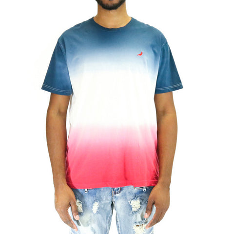 Staple Pigeon Gradient Tee Shirt - Navy