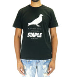 Staple Pigeon Foil Pigeon Tee Shirt - Black