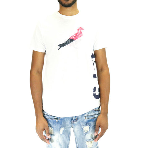 Staple Pigeon New World Pigeon Tee - White
