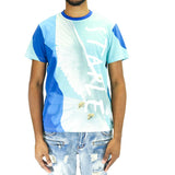 Staple Pigeon Rock Dove Tee Shirt - Blue