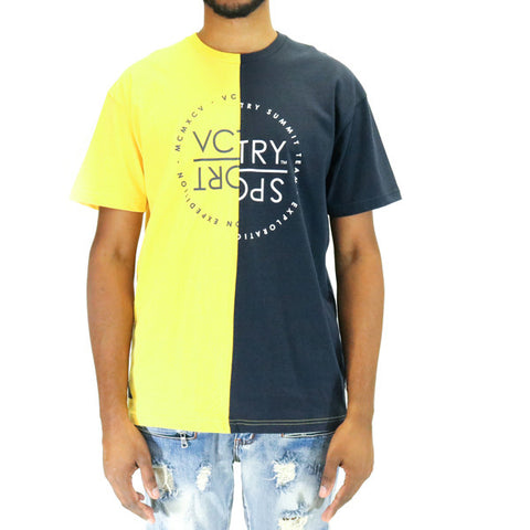 10 Deep VCTRY Split Sail T-Shirt - Yellow