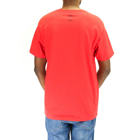 Billionaire Boys Club Collegiate SS Tee - Red