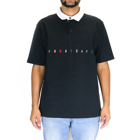 10 Deep NBD Rugby Polo Shirt - Black