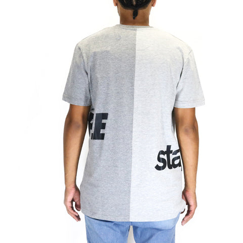 Staple Pigeon Split Pigeon Tee - Heather