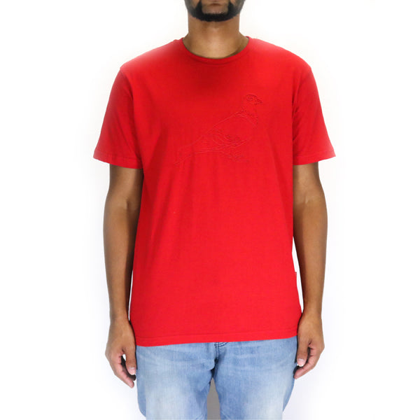 Staple Pigeon Stitch Tee - Red
