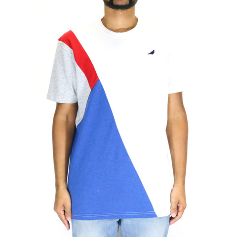 Staple Pigeon Colorblock Tee - White