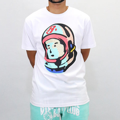Billionaire Boys Club Helmet Logo SS Tee - White