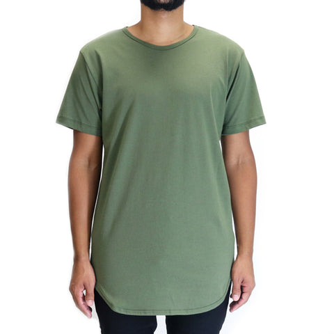 EPTM Long Basic T-Shirt - Olive