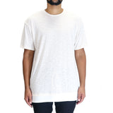EPTM Layered Hi Lo Self T-Shirt - Oatmeal
