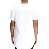 EPTM Long Basic T-Shirt - White