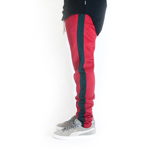 EPTM Techno Track Pants - Red / Green