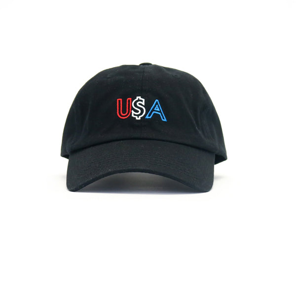 Any Memes USA Dad Hat - Black