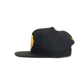 Chicago Blackhawks Melton Proper Snapback Hat - Black