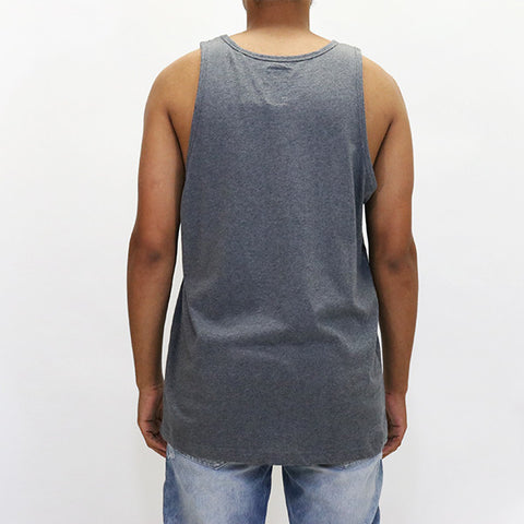 Play Cloths Jack Twist Tank - Heather Charcoal