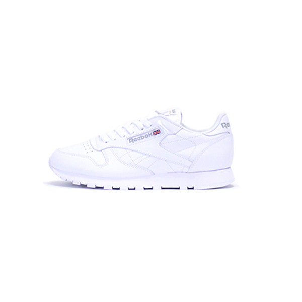Reebok Classic Leather - White / Light Grey