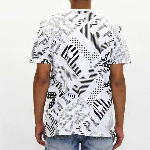 Staple Pigeon All Over Dot T-Shirt - White
