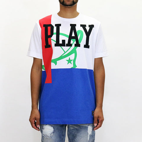 Play Cloths Phase S/S Knit - White