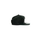 Brooklyn Nets Cursive Script Snapback Hat - Black