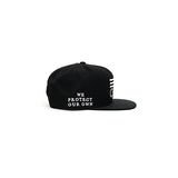 Black Scale Protect Rebels SnapBack - Black