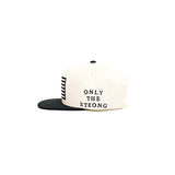 Black Scale Protect Rebels SnapBack - Cream