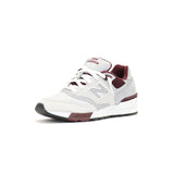 New Balance 597 90s Traditional - Light Grey w/ Burgundy
