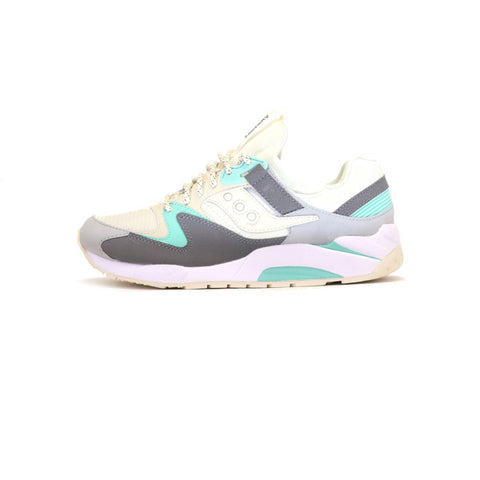 Saucony Grid 9000 - Light Tan/Charcoal/Mint