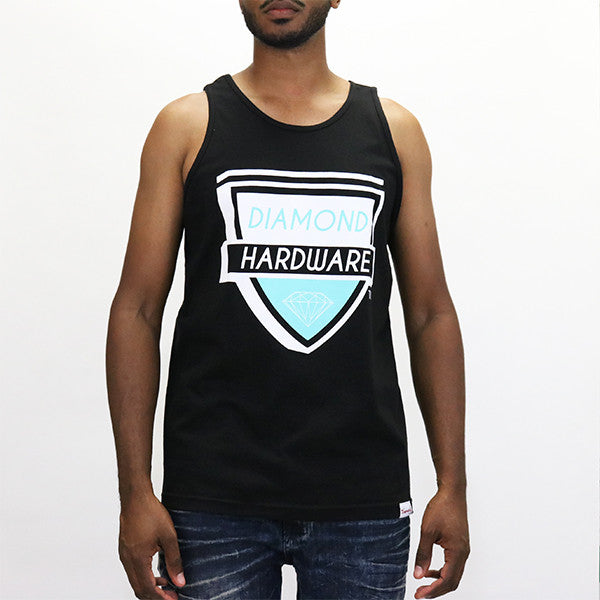 Diamond Supply Hardware Tank Top  - Black