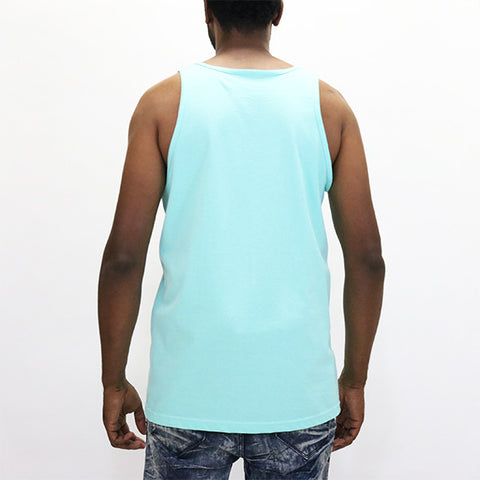 Diamond Supply Palm Vibes Tank Top - Diamond Blue