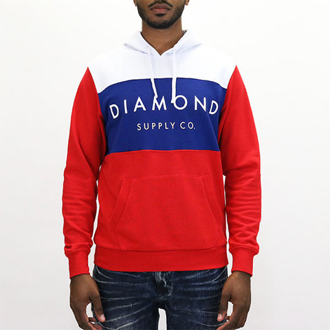 Diamond Supply Yacht Hoodie - White