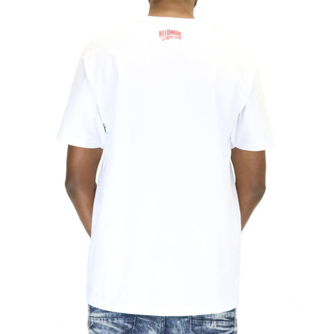 Billionaire Boys Club BB Digi Helmet SS Tee - White