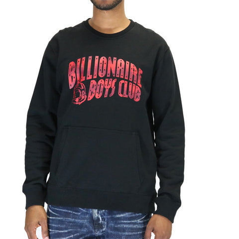 Billionaire Boys Club BB Arch Logo Crew - Black