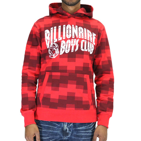 Billionaire Boys Club BB Arch Logo Hoodie - Tango Red
