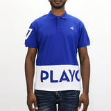 Play Cloths Spellout Polo Shirt - Surf the Web