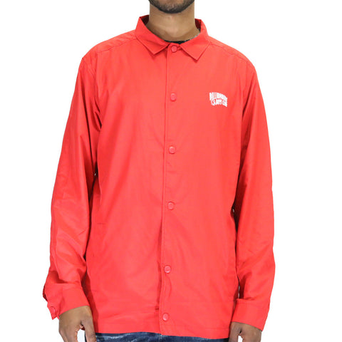 Billionaire Boys Club Crest Coach Jacket - Red