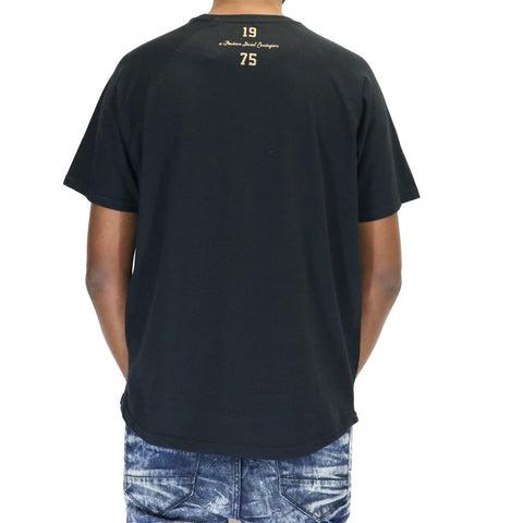 Staple Pigeon Freedom Embroidered T-Shirt - Black