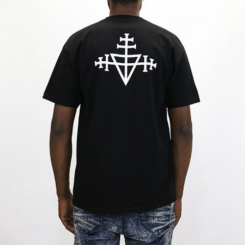 Black Scale Triple Templar T-Shirt - Black